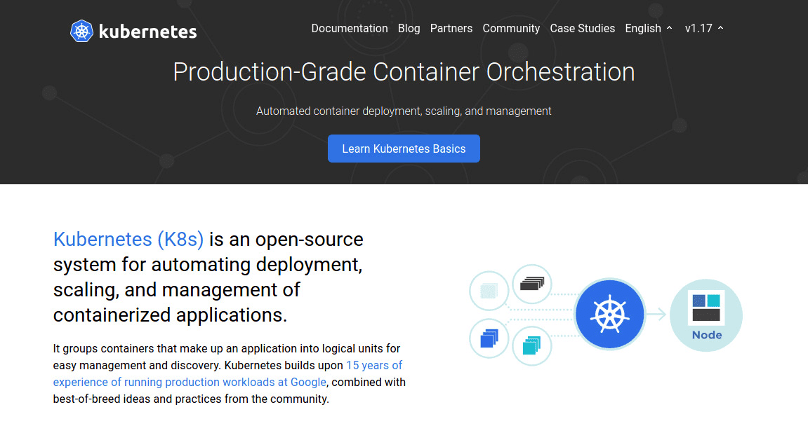 Kubernetes Home Page